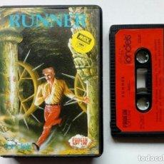 Videojuegos y Consolas: MSX - RUNNER - INSTRUCCIONES EN ESPAÑOL - VIDEOJUEGO EN CASSETTE -. Lote 175132765