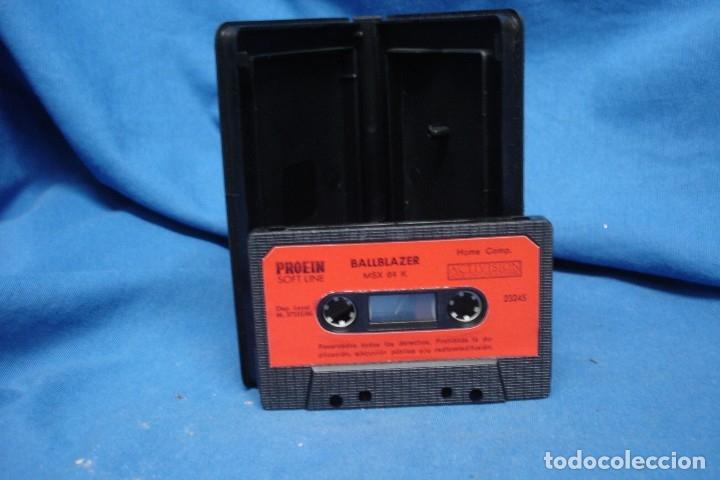 Videojuegos y Consolas: BALLBLAZER - LUCASFILM GAMES - CASSETTE PARA MSX I y II - ACTIVISION 1986- RARO DIFICIL - Foto 2 - 175150473