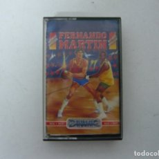 Videojuegos y Consolas: FERNANDO MARTÍN BASKET DE DINAMIC / MSX / RETRO VINTAGE / CASSETTE - CINTA / CLÁSICO . Lote 175723397