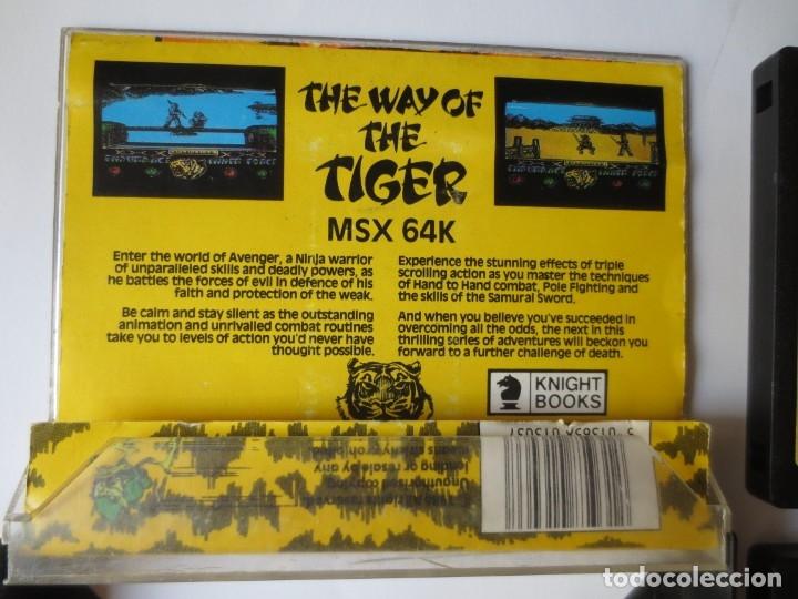 Videojuegos y Consolas: JUEGO EN CINTA MSX - THE WAY OF THE TIGER, DOBLE, COMPLETO, GREMLIN GRAPHICS - Foto 2 - 176471618