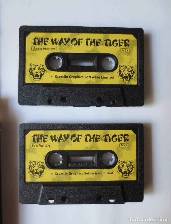 Videojuegos y Consolas: JUEGO EN CINTA MSX - THE WAY OF THE TIGER, DOBLE, COMPLETO, GREMLIN GRAPHICS - Foto 3 - 176471618