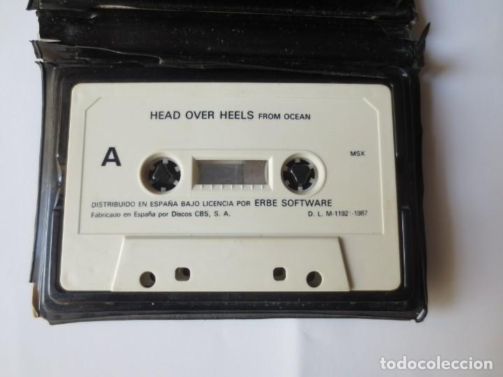 Videojuegos y Consolas: JUEGOS EN CINTA MSX - HEAR OVER HEELS Y JACK THE NIPPER - Foto 2 - 176479639