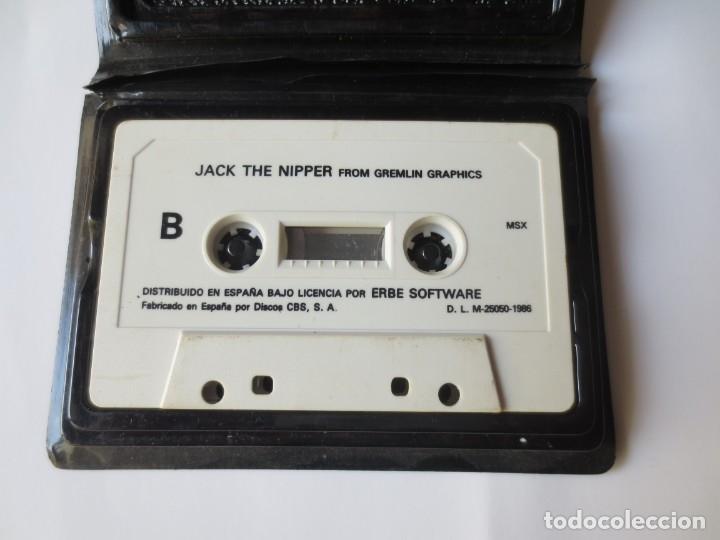 Videojuegos y Consolas: JUEGOS EN CINTA MSX - HEAR OVER HEELS Y JACK THE NIPPER - Foto 4 - 176479639