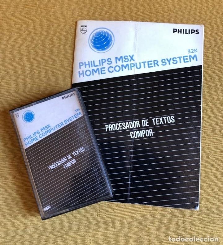 MSX PROCESADOR DE TEXTOS COMPO. PHILIPS (Juguetes - Videojuegos y Consolas - Msx)