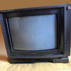 Videojuegos y Consolas: MSX MONITOR SONY TRINITON MODELO HM-1430E COLOR.. Lote 180115942