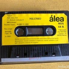Videojuegos y Consolas: MSX JUEGO MILENIO. 64K. EDITA ÁLEA. Lote 180143948