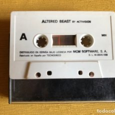 Videojuegos y Consolas: MSX JUEGO ALTERED BEAST. BY ACTIVISION. CASETTE.. Lote 180144166