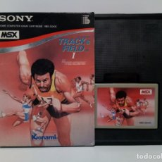 Videojuegos y Consolas: TRACK & FIELD I 1 HYPER OLYMPIC © 1984 KONAMI SONY® HBS-G010C MSX. Lote 180253267
