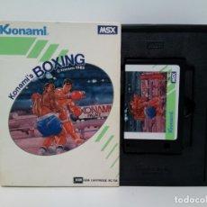 Videojuegos y Consolas: KONAMI´S BOXING © KONAMI 1985 ROM CATRIDGE RC 736 MSX. Lote 180254535