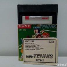 Videojuegos y Consolas: SUPERTENNIS SUPER TENNIS ©1984 TAKARA CO. LTD. SONY® HBS-G022C MSX. Lote 180255230