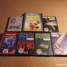 Videojuegos y Consolas: LOTE 7 JUEGOS MSX EN ESTUCHE. Lote 180279905
