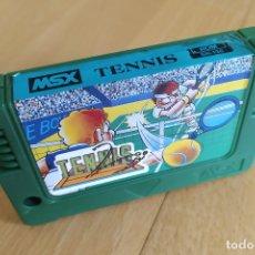 Videojuegos y Consolas: JUEGO CARTUCHO MSX KONAMI´S TENNIS RARA VERSIÓN MEGACOM TAIWAN MSX2 BUEN ESTADO. Lote 181011548