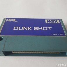 Videojuegos y Consolas: DUNK SHOT JUEGO MSX MSX2 CARTUCHO. Lote 181090398
