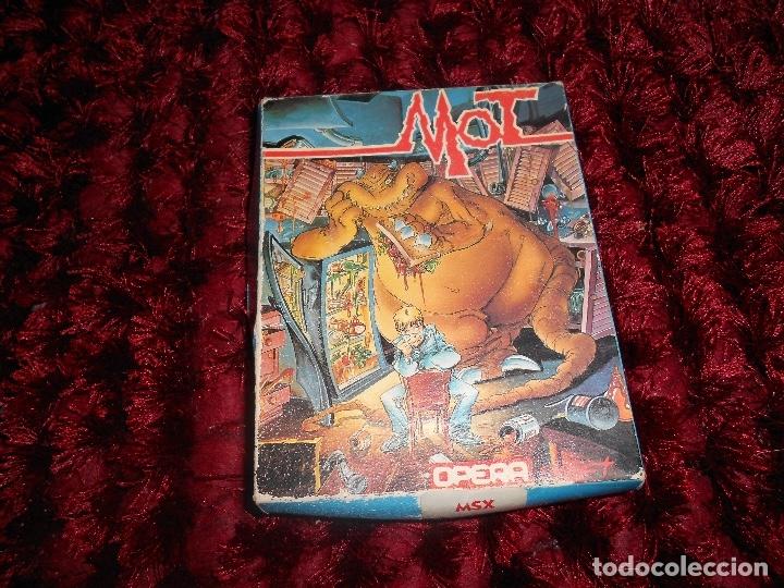 ANTIGUO JUEGO MSX MOT OPERA SOFT (Juguetes - Videojuegos y Consolas - Msx)
