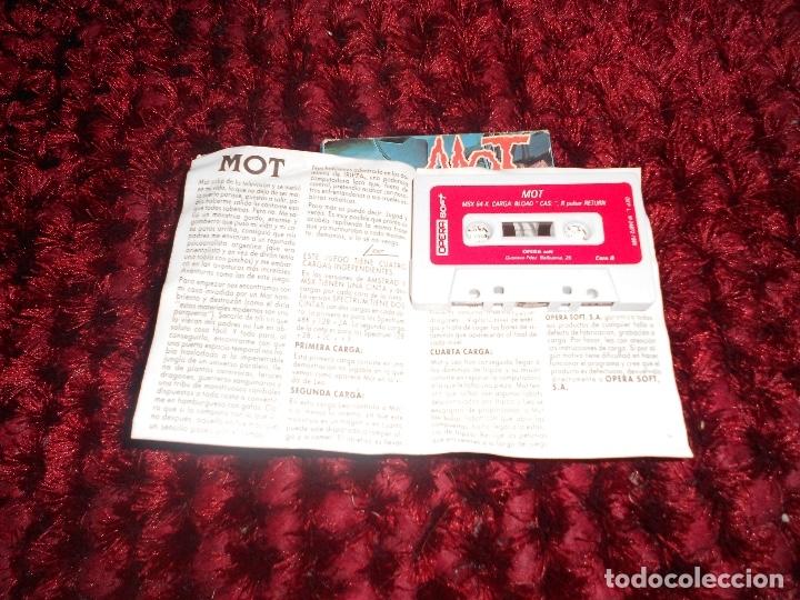 Videojuegos y Consolas: ANTIGUO JUEGO MSX MOT OPERA SOFT - Foto 5 - 181432501