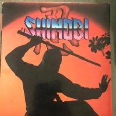 Videojuegos y Consolas: ANTIGUO JUEGO MSX SHINOBI MASTERTRONIC DRO SOFT. Lote 182413180