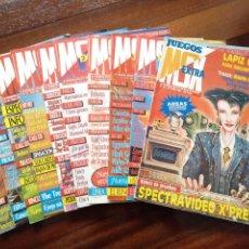 Videojuegos y Consolas: LOTE 10 REVISTAS MSX EXTRA DESDE 1985 A 1988. Lote 182499613