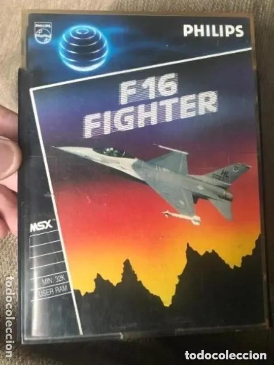 ANTIGUO JUEGO MSX F16 FIGHTER PHILIPS (Juguetes - Videojuegos y Consolas - Msx)