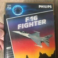 Videojuegos y Consolas: ANTIGUO JUEGO MSX F16 FIGHTER PHILIPS . Lote 182522525