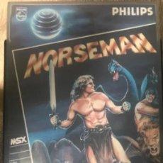 Videojuegos y Consolas: ANTIGUO JUEGO MSX NORSEMAN PHILIPS. Lote 182637161