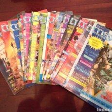 Videojuegos y Consolas: LOTE 14 REVISTAS MSX CLUB CON COLECCIONABLE JAPON INTACTO. Lote 182841927
