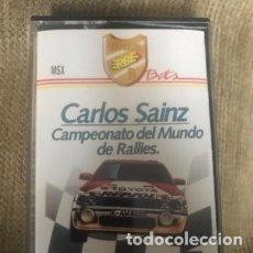 Videojuegos y Consolas: ANTIGUO JUEGO MSX CARLOS SAINZ CAMPEONATO MUNDO RALLIES . Lote 182905223