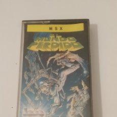 Videojuegos y Consolas: MSX EL MUNDO PERDIDO. Lote 183042842