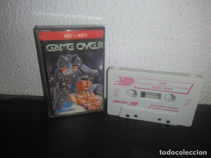 JUEGO GAME OVER MSX (Juguetes - Videojuegos y Consolas - Msx)