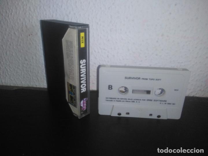 Videojuegos y Consolas: Juego Survivor msx - Foto 2 - 183693147