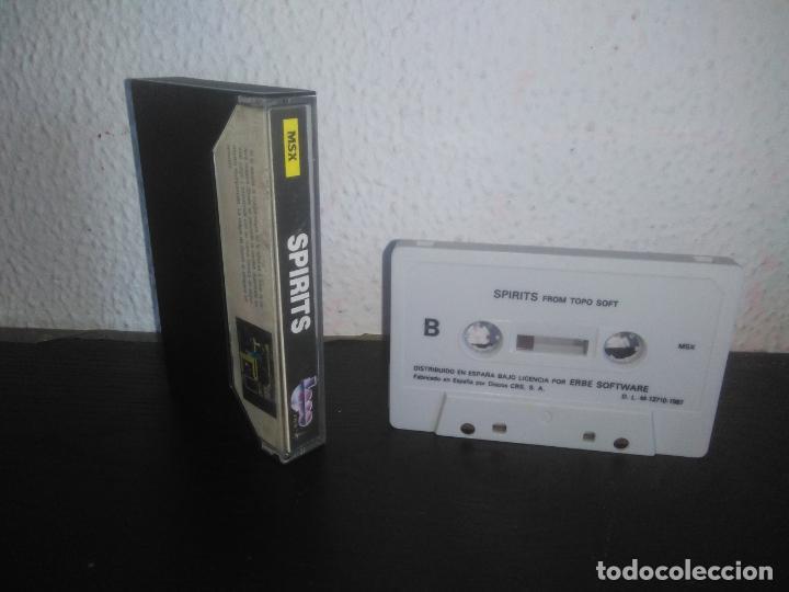 Videojuegos y Consolas: Juego Spirits msx - Foto 2 - 183693448