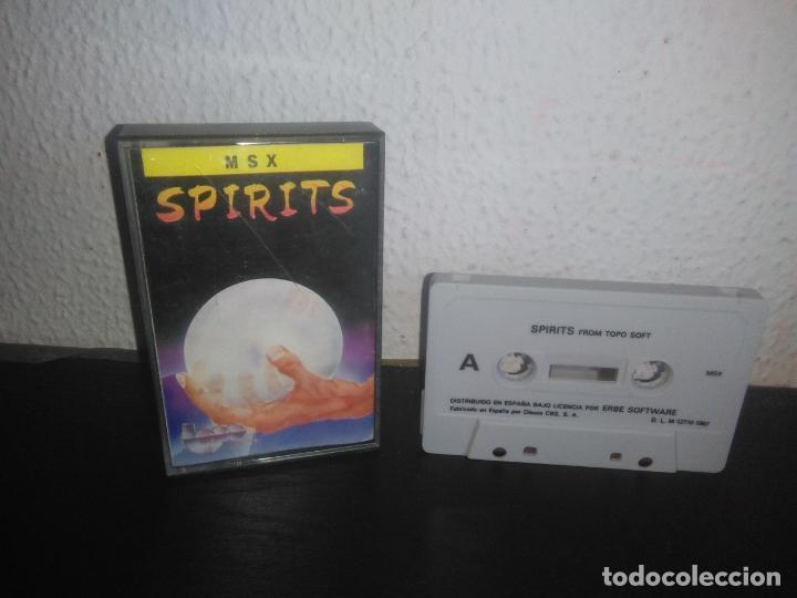 JUEGO SPIRITS MSX (Juguetes - Videojuegos y Consolas - Msx)