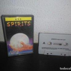 Videojuegos y Consolas: JUEGO SPIRITS MSX. Lote 183693448