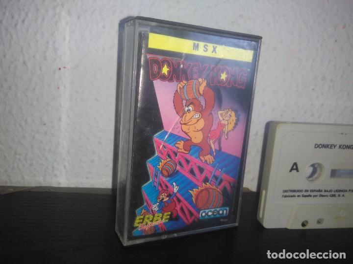Videojuegos y Consolas: Juego Donkey kong msx - Foto 2 - 183693741