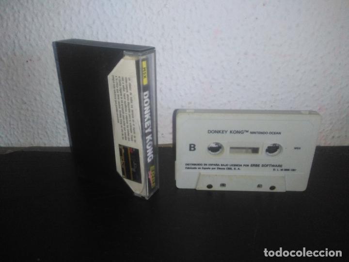 Videojuegos y Consolas: Juego Donkey kong msx - Foto 3 - 183693741