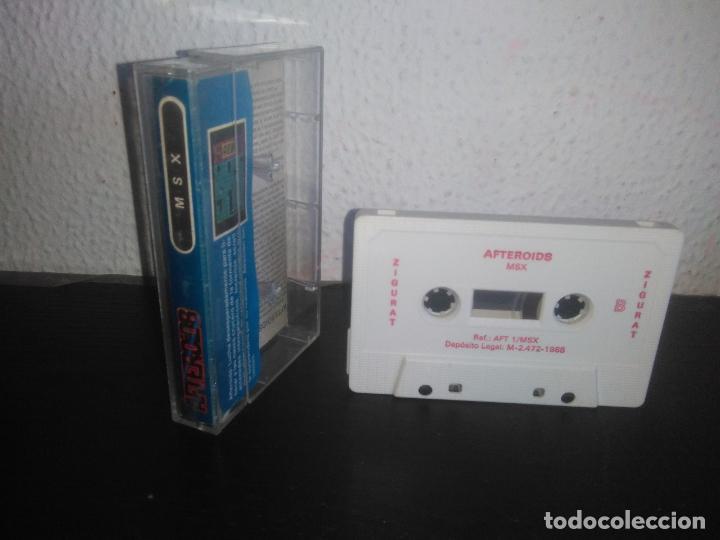 Videojuegos y Consolas: Juego AFTEROIDS msx - Foto 2 - 183694140