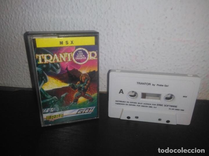 JUEGO TRANTOR MSX (Juguetes - Videojuegos y Consolas - Msx)
