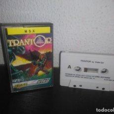Videojuegos y Consolas: JUEGO TRANTOR MSX. Lote 183694426
