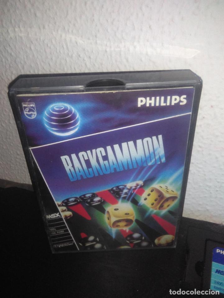 Videojuegos y Consolas: Juego Backgammon msx - Foto 2 - 183695325