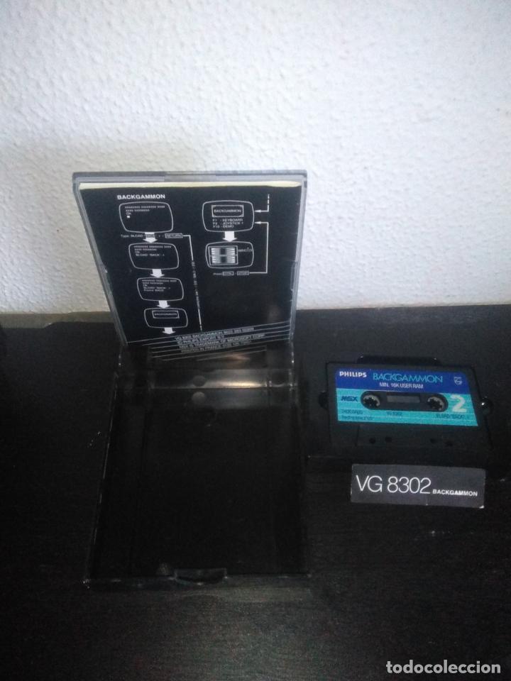 Videojuegos y Consolas: Juego Backgammon msx - Foto 4 - 183695325