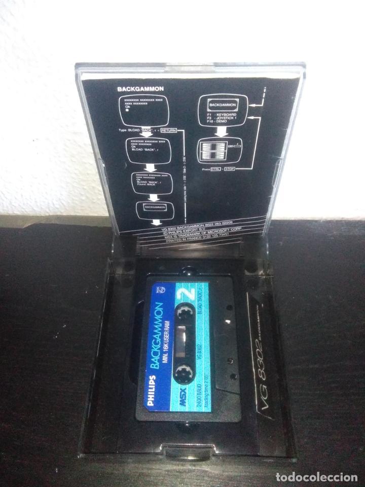 Videojuegos y Consolas: Juego Backgammon msx - Foto 5 - 183695325