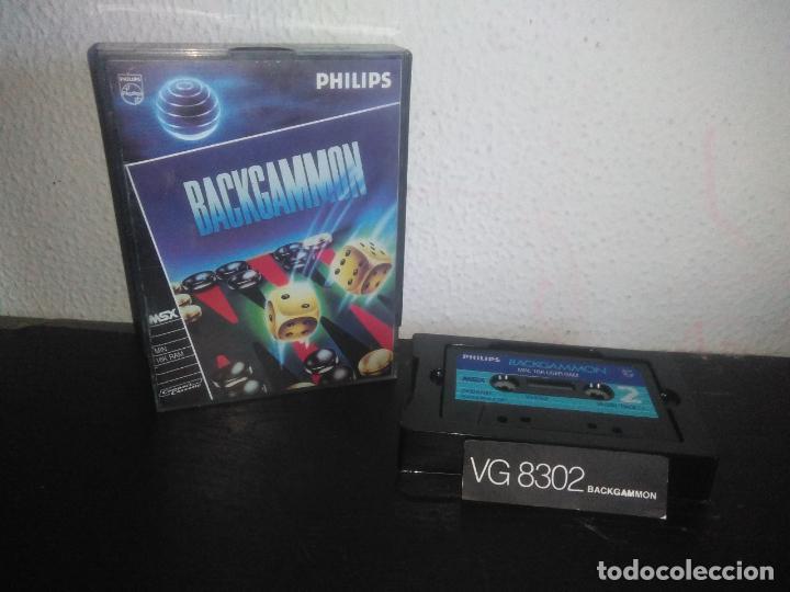 JUEGO BACKGAMMON MSX (Juguetes - Videojuegos y Consolas - Msx)