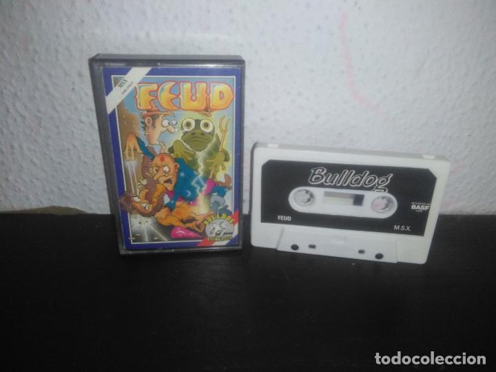JUEGO FEUD MSX (Juguetes - Videojuegos y Consolas - Msx)
