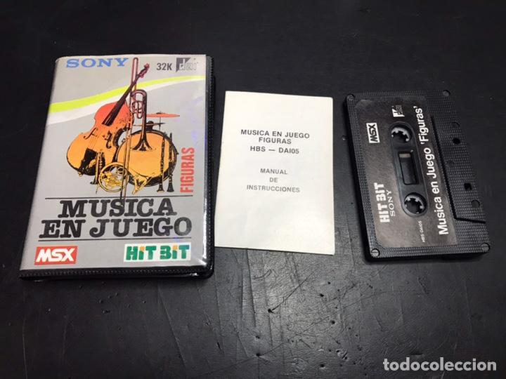 MUSICA EN JUEGOS MSX CASSET HIT BIT SONY (Juguetes - Videojuegos y Consolas - Msx)