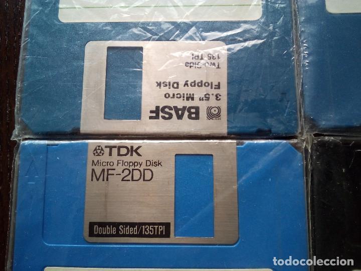 LOTE 8 DISKETES 3.5 MF-2DD USADOS IDEALES MSX-MSX2 PARA FORMATEAR (DISQUETES FLOPPYS) (Juguetes - Videojuegos y Consolas - Msx)