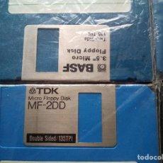 Videojuegos y Consolas: LOTE 8 DISKETES 3.5 MF-2DD USADOS IDEALES MSX-MSX2 PARA FORMATEAR (DISQUETES FLOPPYS). Lote 184268932