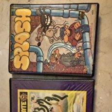 Videojuegos y Consolas: LOTE DE 2 JUEGOS CAJA GRANDE MSX. Lote 187155390