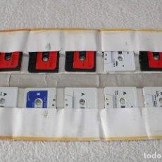 Videojuegos y Consolas: MSX. JUEGOS: 10 HITS. ESTUCHE CON 10 CINTAS DE JUEGOS -AÑOS 80 . Lote 187440480