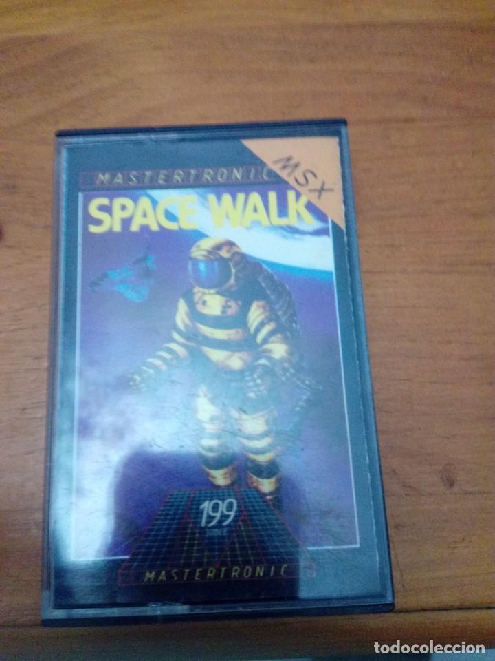 SPACE WALK. MASTERTRONIC. (Juguetes - Videojuegos y Consolas - Msx)