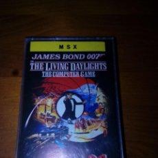 Videojuegos y Consolas: SOLAMENTE LA CARATULA. MSX. JAMES BOND 007. THE LIVING DAYLIGHTS. . Lote 189401280