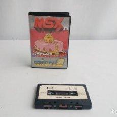 Videojuegos y Consolas: JUEGO MSX. JUMP LAND. CINTA. Lote 191454140